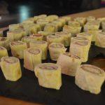 På Mineralparken lager vi vår egen tapas med forskjellige lefserullerf som serveres til arrangementer.