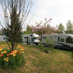 Bobiler på Mineralparken Camping