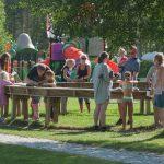 Eventyrbekken på Mineralparken er veldig populær for hele familien