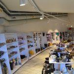 Rock Shop på Mineralparken på Evje